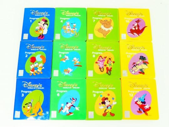 【新着】◆ストレートプレイDVD(DVDセット)◆ディズニー英語システム【中古】ワールドファミリー DWE 英語教材 幼児教材 子供教材 知育教材 406002