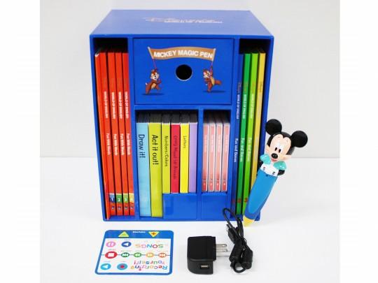 【新着】◆ミッキーマジックペンセット【2011年版】◆ディズニー英語システム【中古】ワールドファミリー DWE 英語教材 幼児教材 子供教材 知育教材【送料無料】