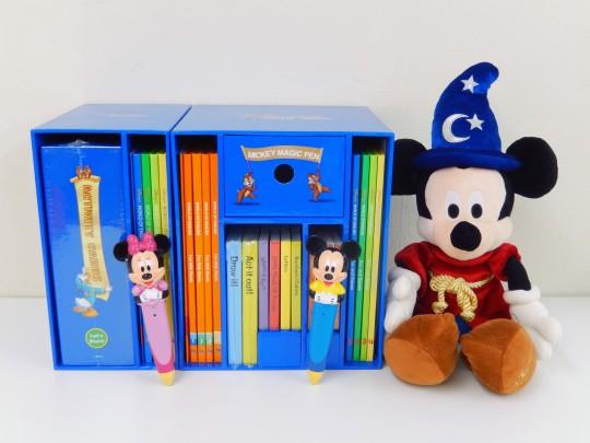 【SALE】◆ミッキーマジックペン&アドベンチャーセット【2012年版】◆ディズニー英語システム【中古】ワールドファミリー DWE 英語教材 幼児教材 子供教材 知育教材