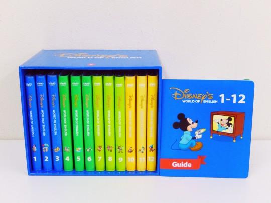 【新着】◆ストレートプレイDVDセット【2014年/最新映像版】ディズニー英語システム【中古】ワールドファミリー DWE 英語教材 幼児教材 子供教材 知育教材