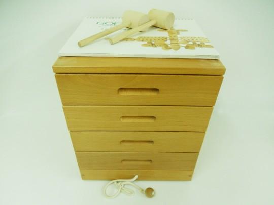 【希少】◆家庭保育園◆第6教室「ゲーテのくみ木」 【中古】 幼児教材 子供教材 知育教材 木製玩具