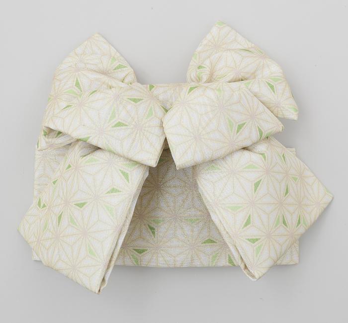 七五三 7歳 女の子 結び帯 式部浪漫 ブランド グリーン 日本製 販売 購入
