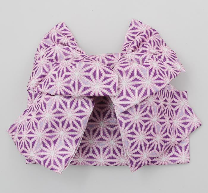 七五三 7歳 女の子 結び帯 式部浪漫 ブランド 紫 日本製 販売 購入