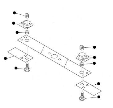 スライド式タイプ カリハセット(1台分)CMX2508専用