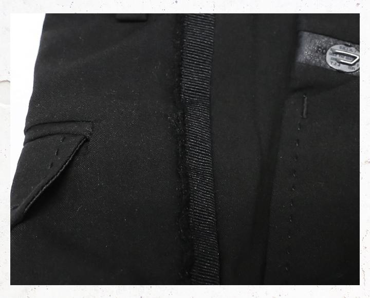 DIESEL ディーゼル メンズ 薄手 サイドラインテープ センタープレス スリムフィット スラックスパンツ P BRIAR SLIMW28~34ブラック die m p 80 085メーカー希望小売価格30 240円35jcL4ARSq