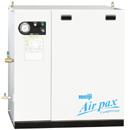 明治機械 APKM-75 エアーコンプレッサー パッケージ レシプロ 給油式 7.5kw 10馬力