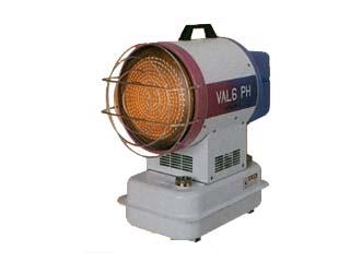 〔送料無料〕静岡製機 VAL6-PH 赤外線暖房機