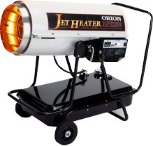オリオン HPE250 ジェットヒーター 可搬式 温風機 おすすめ 体育館 暖房 防寒