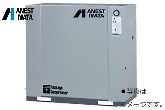 アネスト岩田 5馬力 CLP37EF-14 コンプレッサー 中圧 給油式 圧力開閉器式