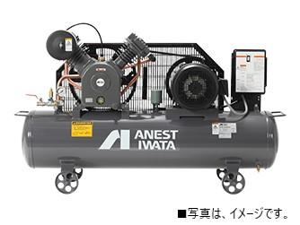アネスト岩田 TLP37EG-10 5馬力 給油式 レシプロ タンクマウント