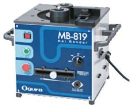オグラ MB-819 バーベンダー 可搬用鉄筋曲げ機 曲げ角度範囲 0~180°の範囲