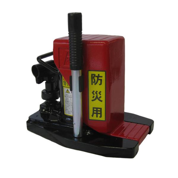ダイキ 油圧爪付ジャッキ DHTS-5E 油圧式 救助機器 レバー回転式 低床型 爪部 5t 頭部 10t