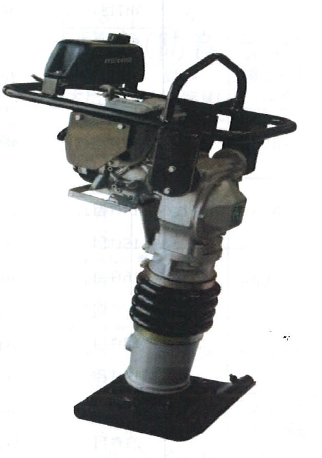 格安SALEスタート! ホンダエンジン HR70 転圧:kikaihanbai 締固め ランマ 〔送料無料〕明和製作所-DIY・工具
