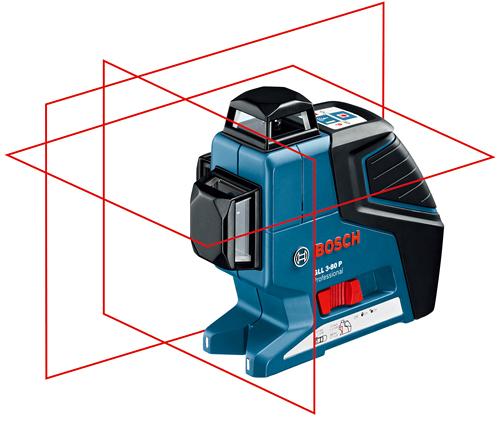 ボッシュ レーザー墨出し器 GLL 3-80P 建設機械 BOSCH