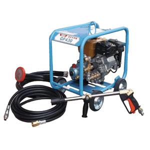 レッキス GF430 自給式エンジンタイプ高圧洗浄機