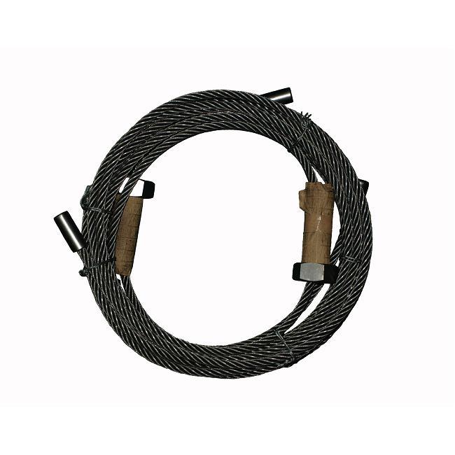 送料無料 ビシャモン用二柱リフト SP2500用交換ワイヤーセット
