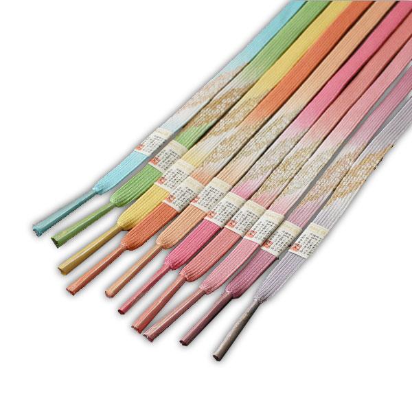 アウトレット☆送料無料 訪問着に最適 三分極細金銀糸等を使用し組み上げました メール便OK 正絹帯締め帯〆全10色 流行のアイテム