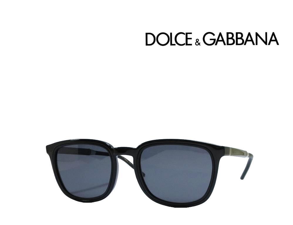 送料無料 【DOLCE&GABBANA】ドルチェ&ガッバーナ  サングラス  DG6115  501/81 ブラック 偏光レンズ 国内正規品