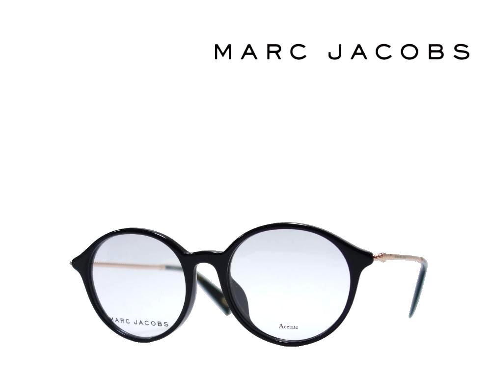 【MARC JACOBS】 マーク ジェイコブス メガネフレーム MARC 260/F 807 ブラック アジアンフィット 国内正規品 《数量限定特価品》