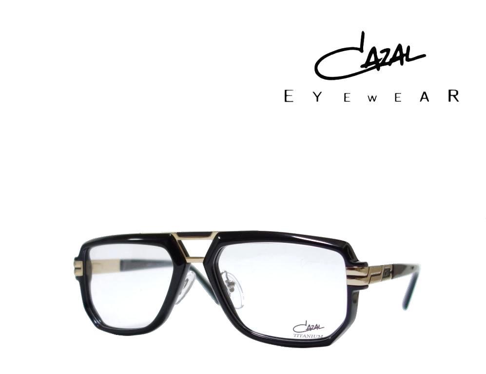 送料無料【CAZAL】カザール メガネフレーム LEGENDS MOD.6013  COL001  ブラック・ゴールド  国内正規品