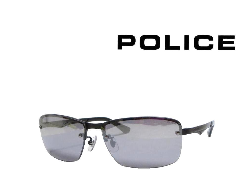 送料無料【POLICE】ポリス サングラス  SPL522J  0531   マットブラック   国内正規品