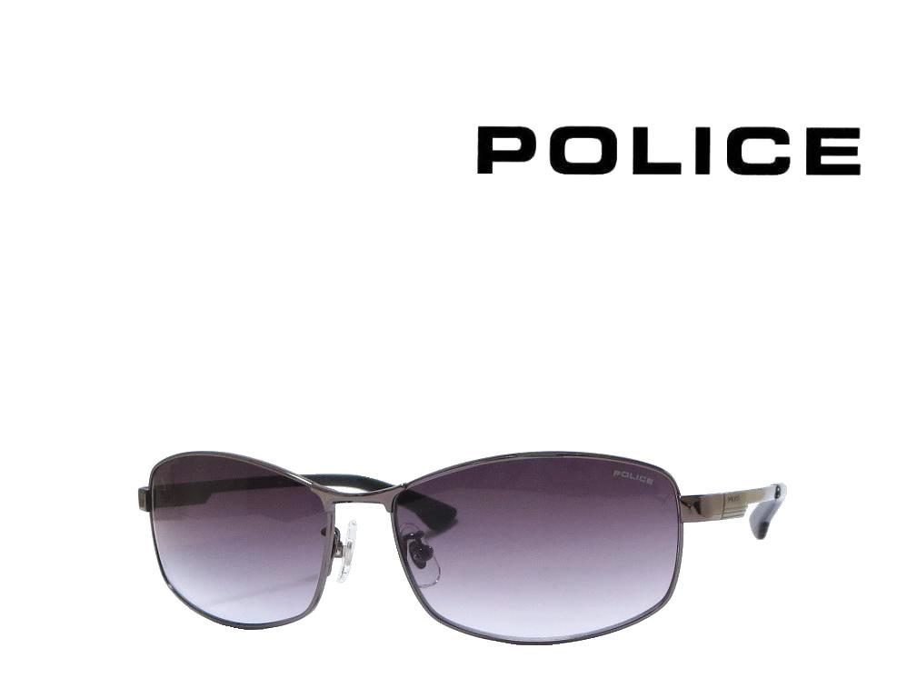 送料無料【POLICE】ポリス サングラス SPL743J  568N  ガンメタル 国内正規品
