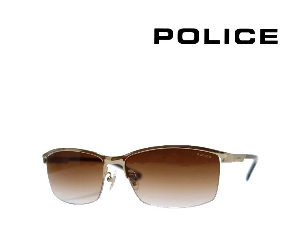 送料無料【POLICE】ポリス サングラス SPL916J  0300   ライトゴールド   国内正規品