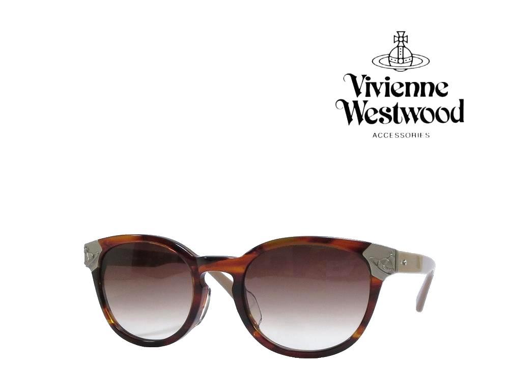 送料無料【Vivienne Westwood】ヴィヴィアン ウエストウッド  サングラス  VW-9713  BW  ブラウンデミ