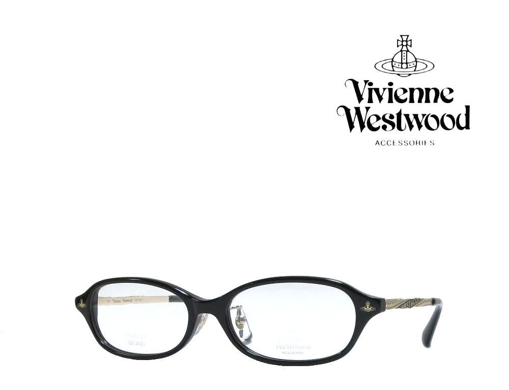 送料無料【Vivienne Westwood】ヴィヴィアンウエストウッド メガネフレーム  VW-7061  BK  ブラック