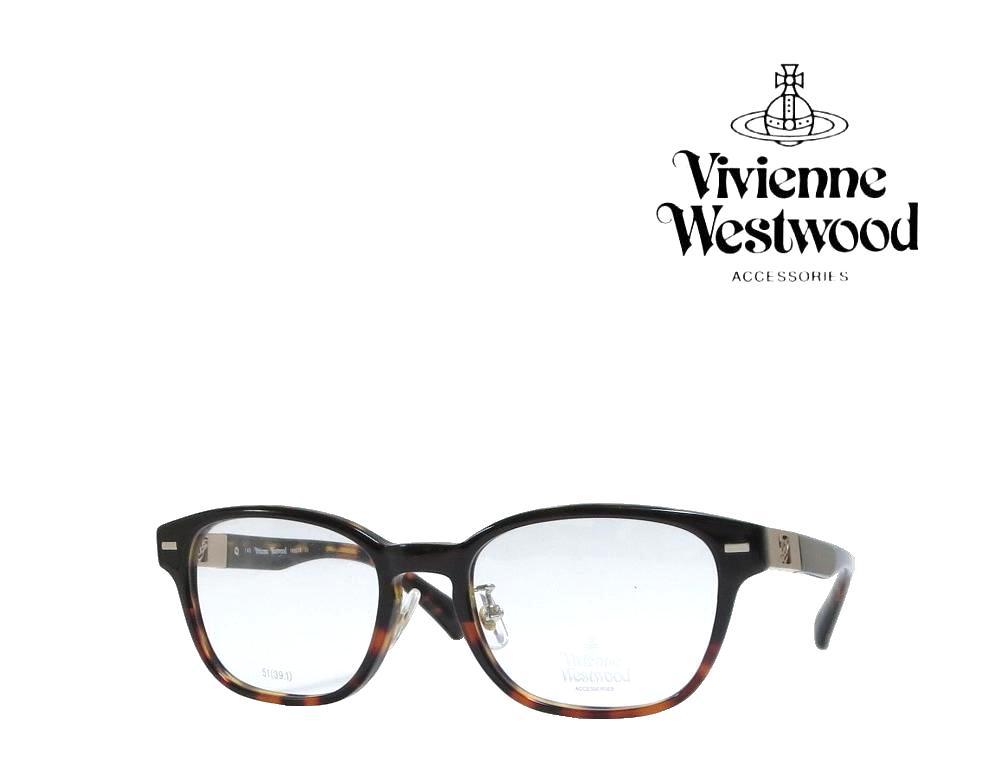 送料無料【Vivienne Westwood】ヴィヴィアンウエストウッド メガネフレーム  VW-9018  DD  ブラウン・デミ