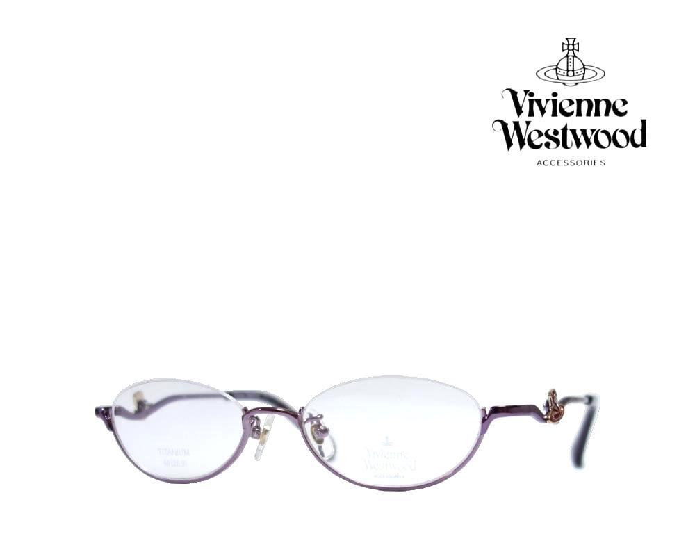 送料無料【Vivienne Westwood】ヴィヴィアンウエストウッド メガネフレーム  VW-5107  PU  パープル