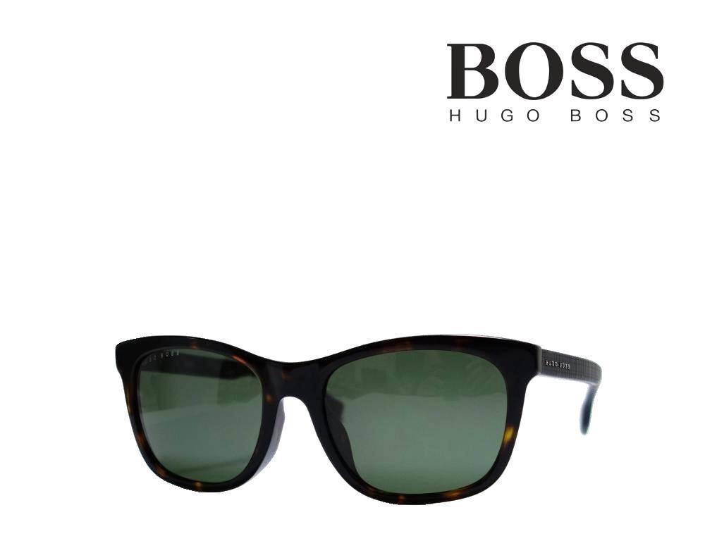 【HUGO BOSS】 ヒューゴ ボス サングラス 1061/F/S 086  ハバナ  アジアンフィット 国内正規品  《数量限定特価品》
