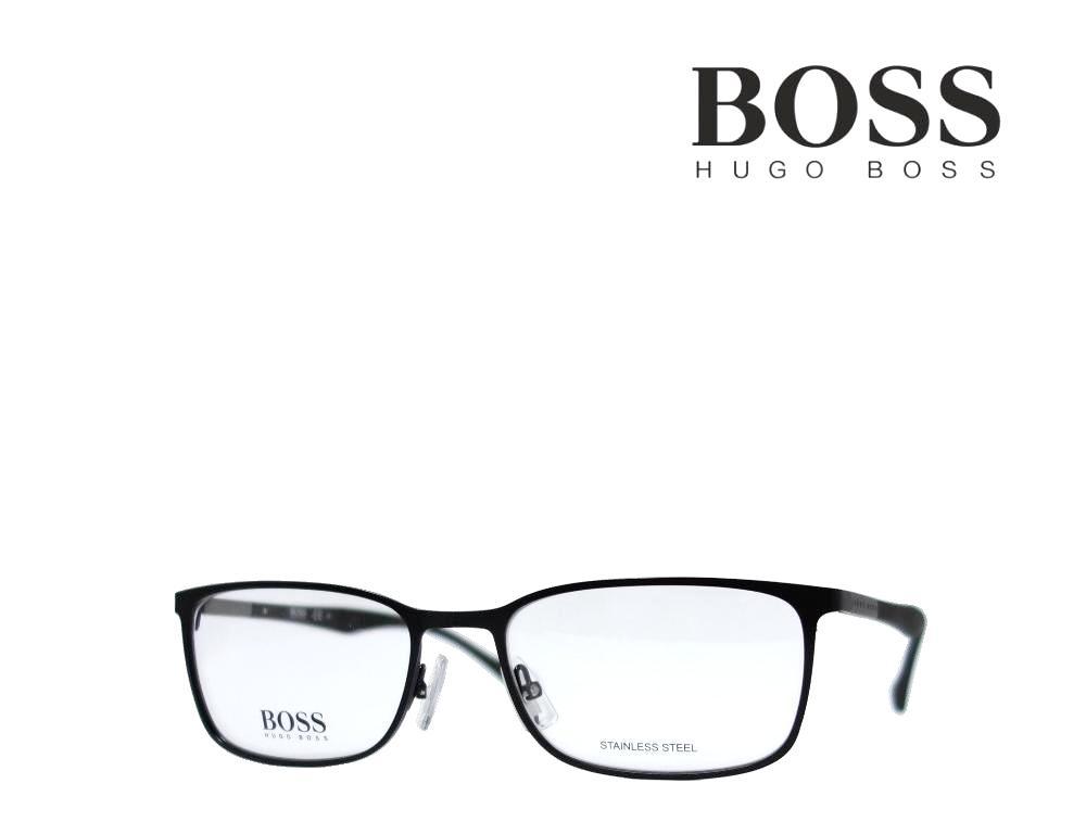 【HUGO BOSS】 ヒューゴ ボス メガネフレーム  BOSS 0828 YZ2 マットブラック 国内正規品 《数量限定特価品》
