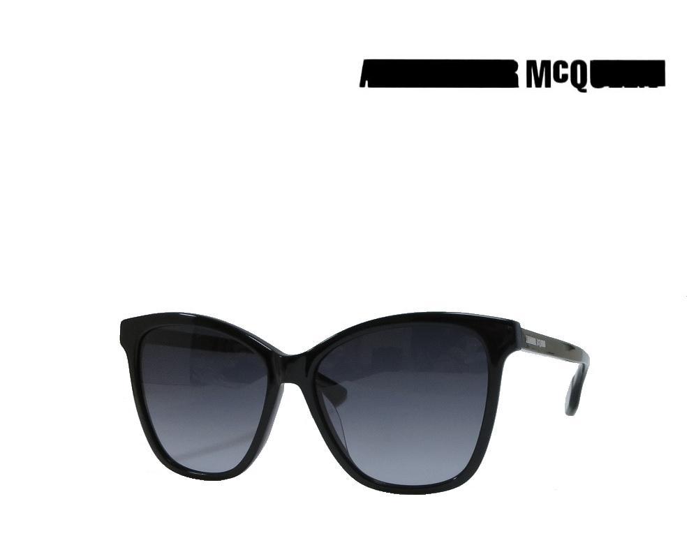 【McQueen】アレキサンダー マックイーン  サングラス  MQ0061SA  001  ブラック  アジアンフィット  国内正規品