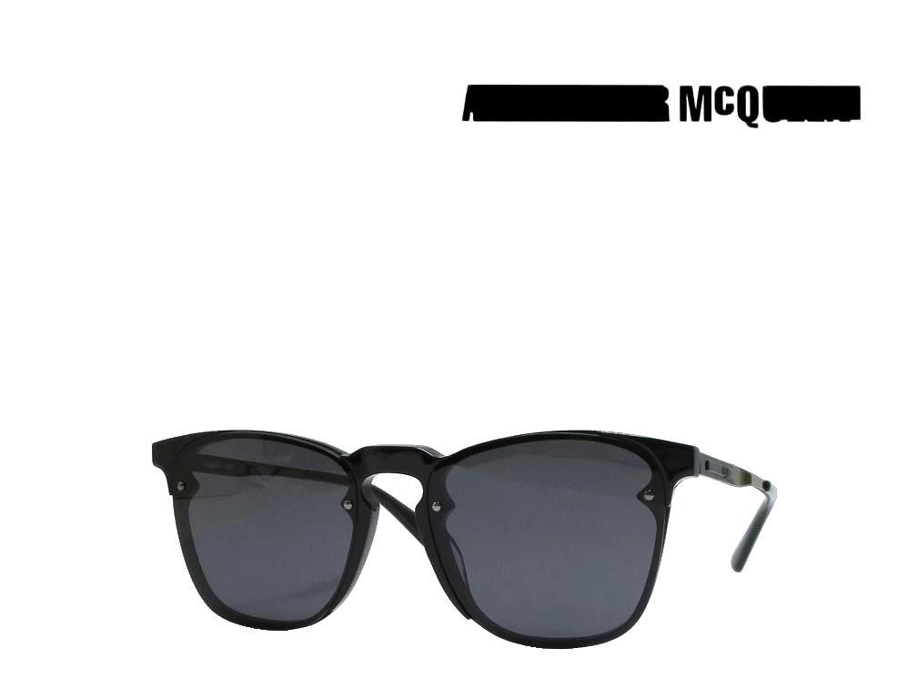 【McQueen】アレキサンダー マックイーン  サングラス  MQ0134S  001  ブラック 国内正規品