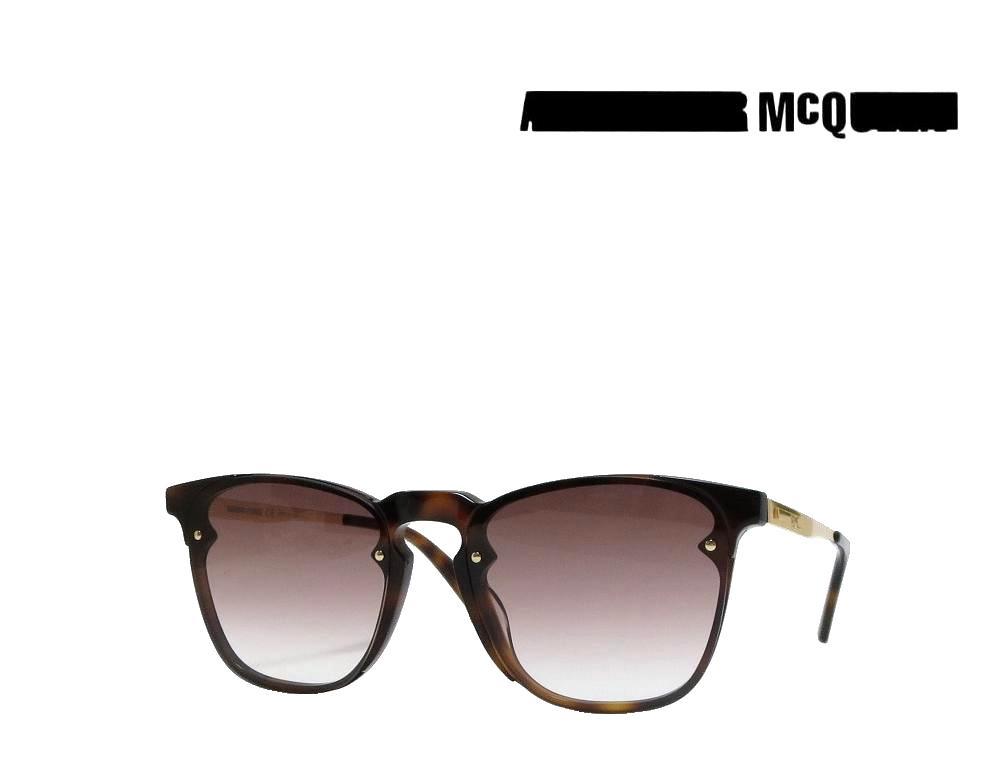 【McQueen】アレキサンダー マックイーン  サングラス  MQ0134S  002  ハバナ 国内正規品