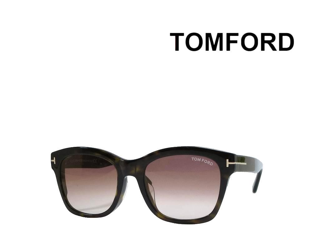 送料無料 【TOM FORD】 トムフォード  サングラス Lauren-02 TF0614-F  52F   ハバナ アジアンフィット  国内正規品