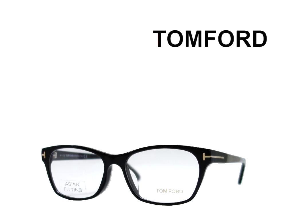 送料無料【TOM FORD】トム フォード  メガネフレーム  TF5405-F  001  ブラック  アジアンフィット  国内正規品