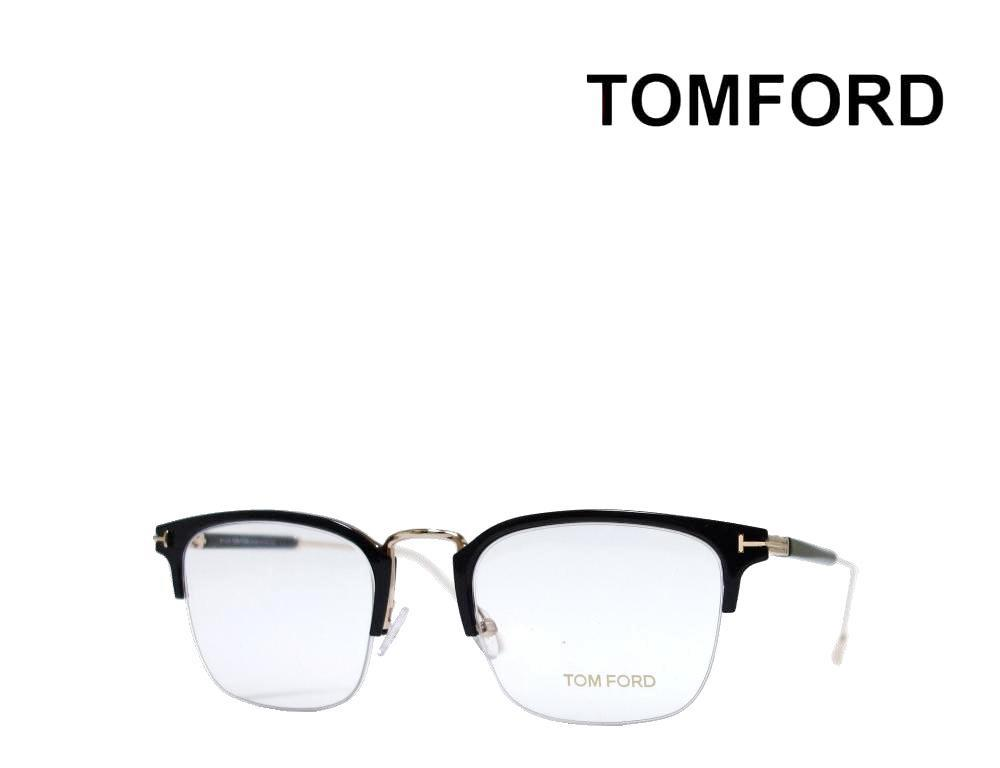 送料無料【TOM FORD】 トム フォード  メガネフレーム TF5611  001  ブラック・ローズゴールド  国内正規品