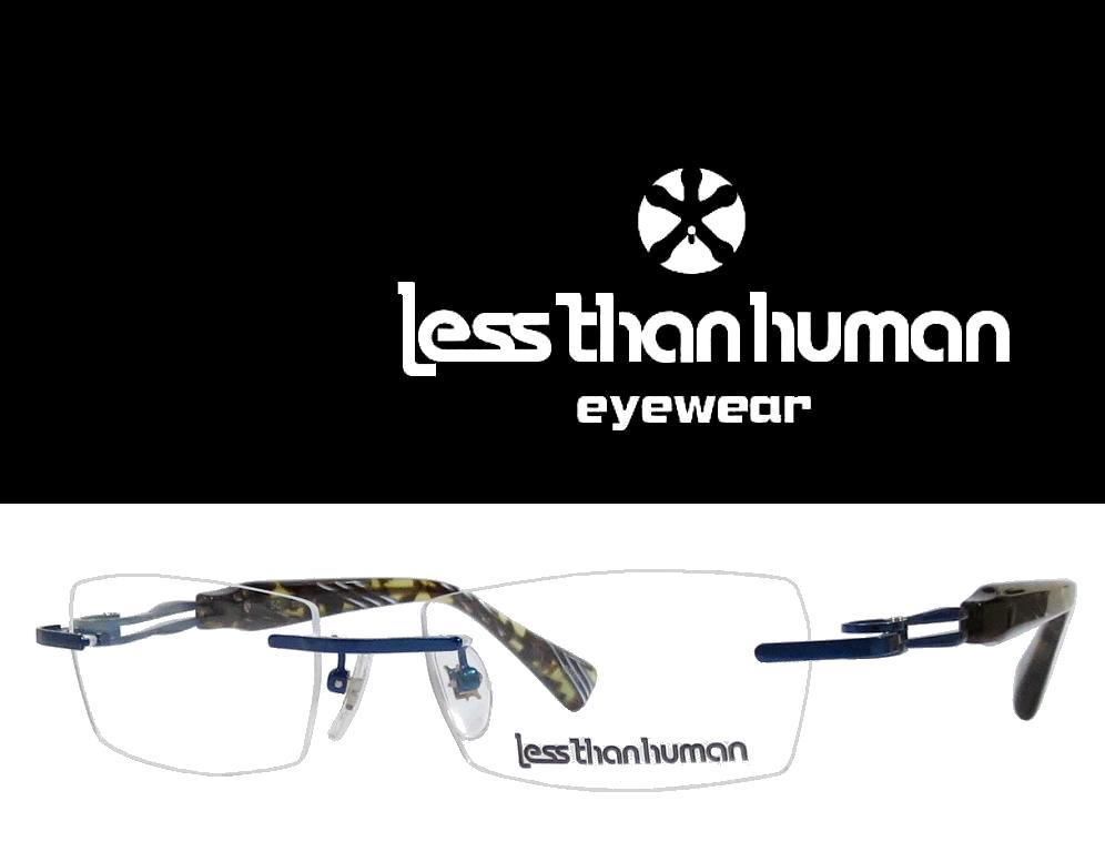 送料無料 【LESS THAN HUMAN】 レスザン ヒューマン   メガネフレーム   SC  8080   ブルー