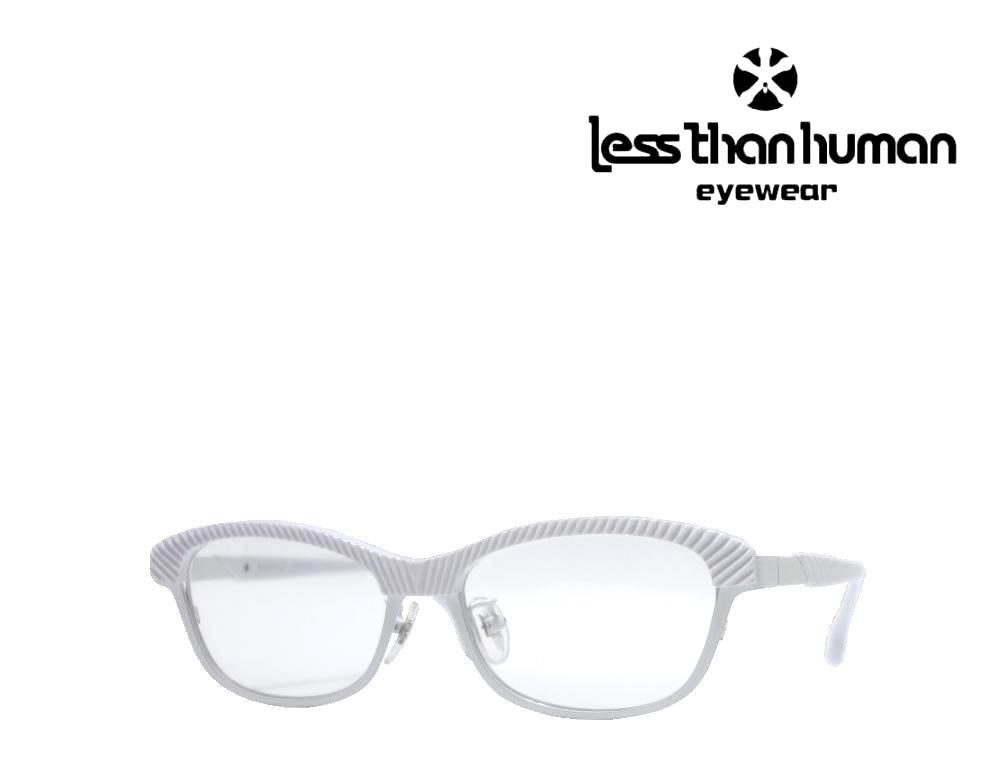 送料無料【LESS THAN HUMAN】 レスザンヒューマン メガネフレーム   SUMERAGI  59  ホワイト ≪数量限定特価品≫