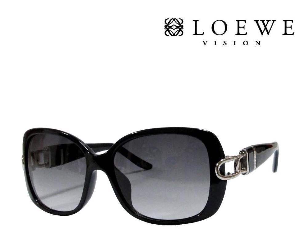 送料無料【LOEWE】ロエベ  サングラス  SLW782G  0Z42  ブラック アジアンフィット 国内正規品