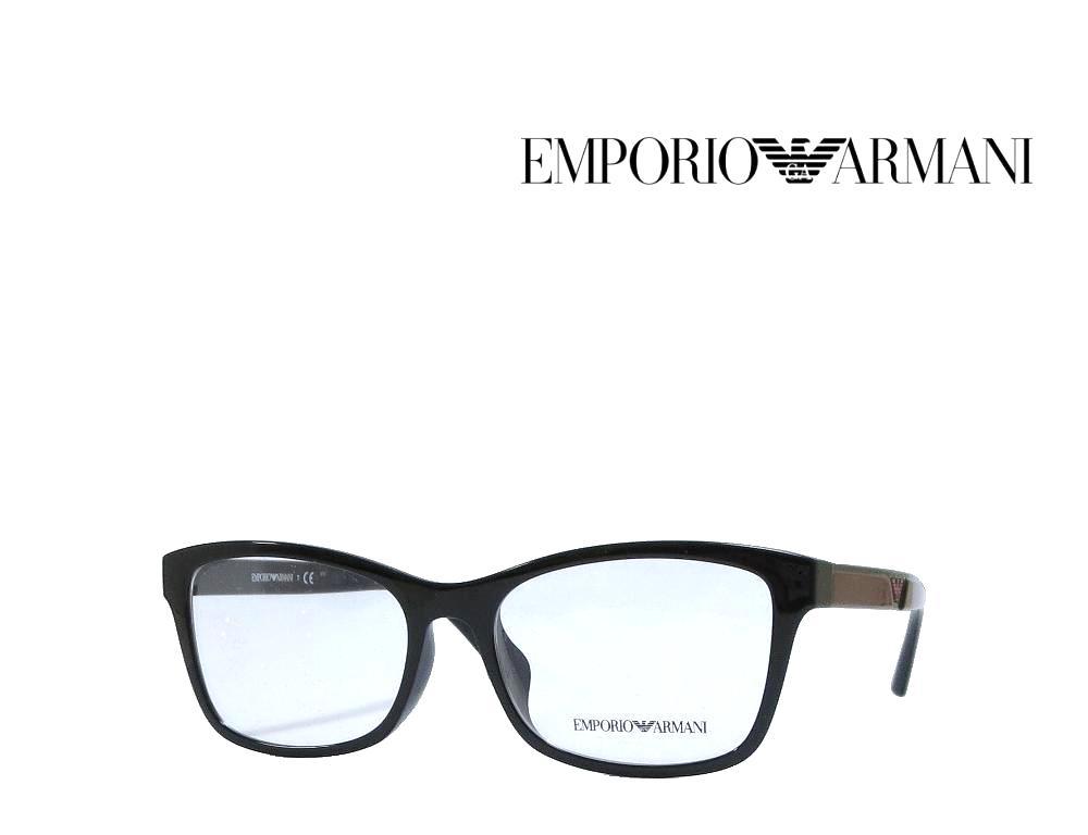 送料無料【EMPORIO ARMANI】エンポリオ アルマーニ メガネフレーム  EA3128F  5017  ブラック  国内正規品