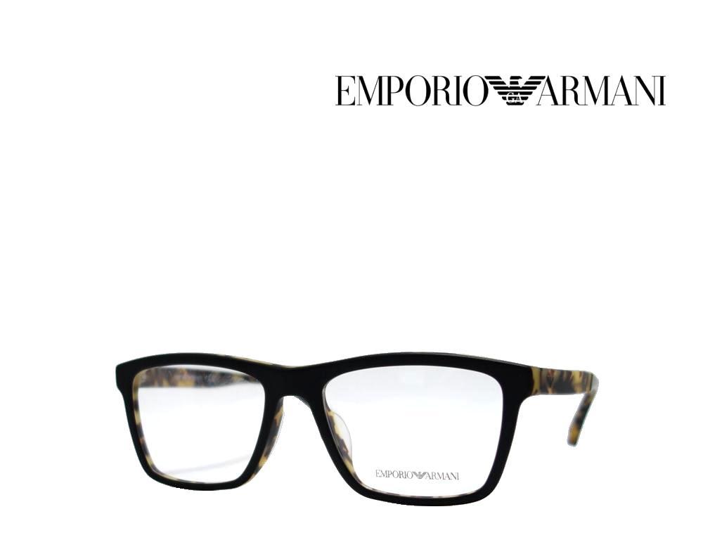 送料無料【EMPORIO ARMANI】エンポリオ アルマーニ メガネフレーム  EA3138F  5701  マットブラック  国内正規品