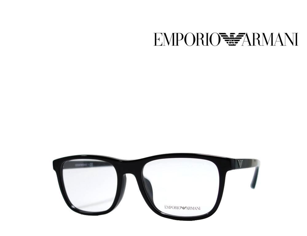 送料無料【EMPORIO ARMANI】エンポリオ アルマーニ メガネフレーム  EA3140F  5001  ブラック  国内正規品