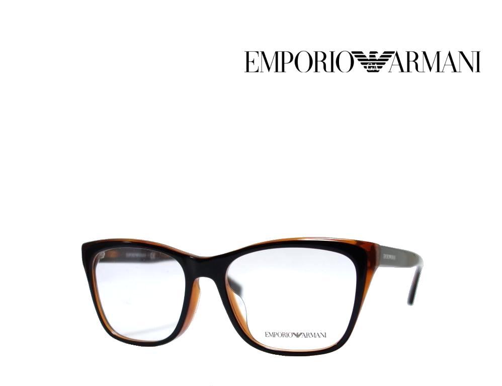 送料無料【EMPORIO ARMANI】 エンポリオ アルマーニ メガネフレーム  EA3146F  5742  ブラック・トータス  フルフィットモデル  国内正規品