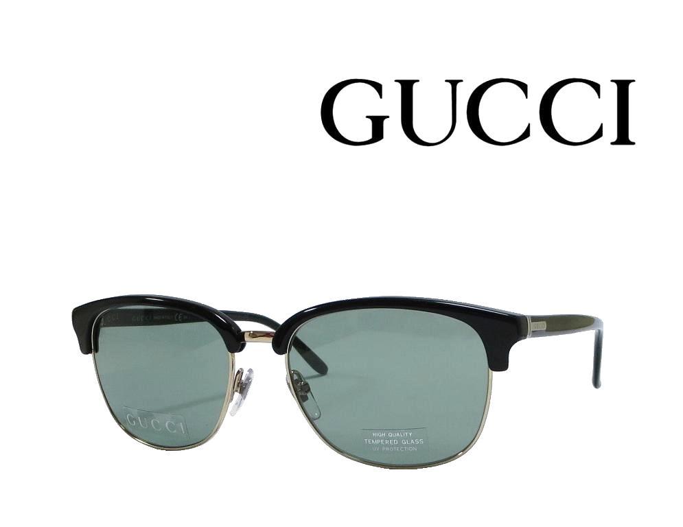 送料無料【GUCCI】グッチ サングラス  GG 2227/S  AUB  ブラック/ゴールド  国内正規品