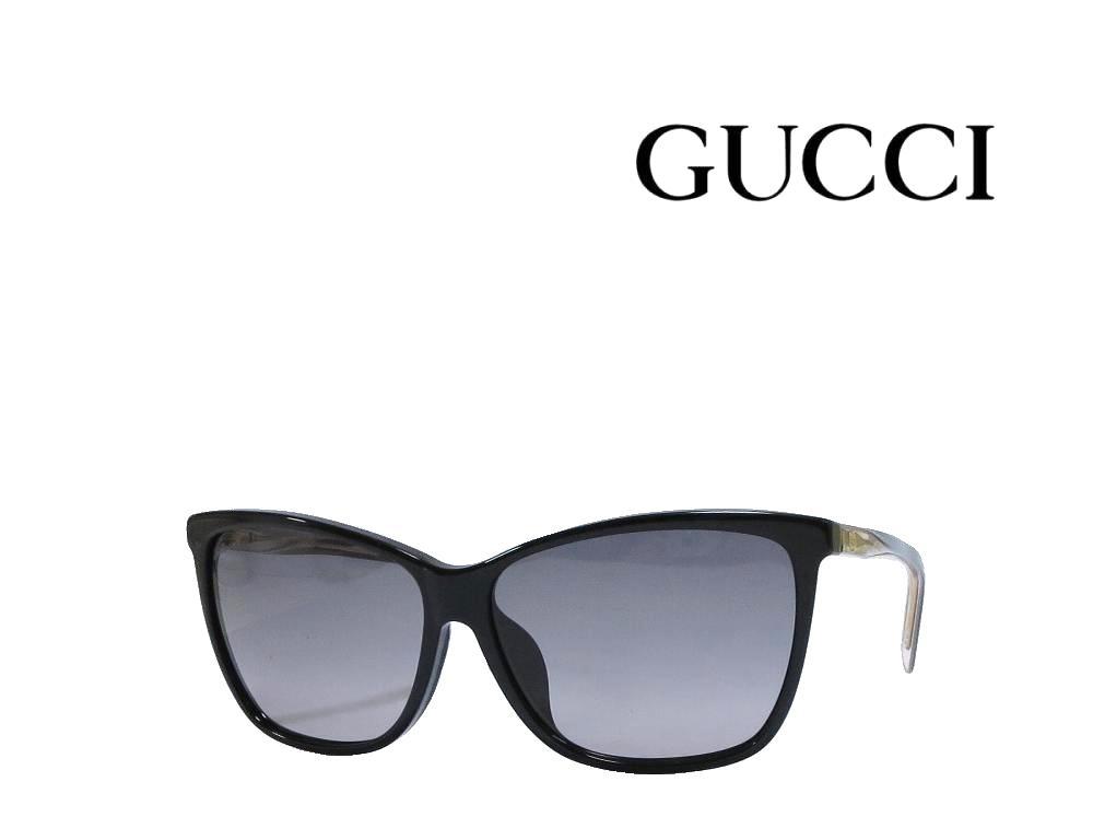 送料無料【GUCCI】グッチ サングラス  GG3663/F/S   0WM   ブラック アジアンフィット  国内正規品