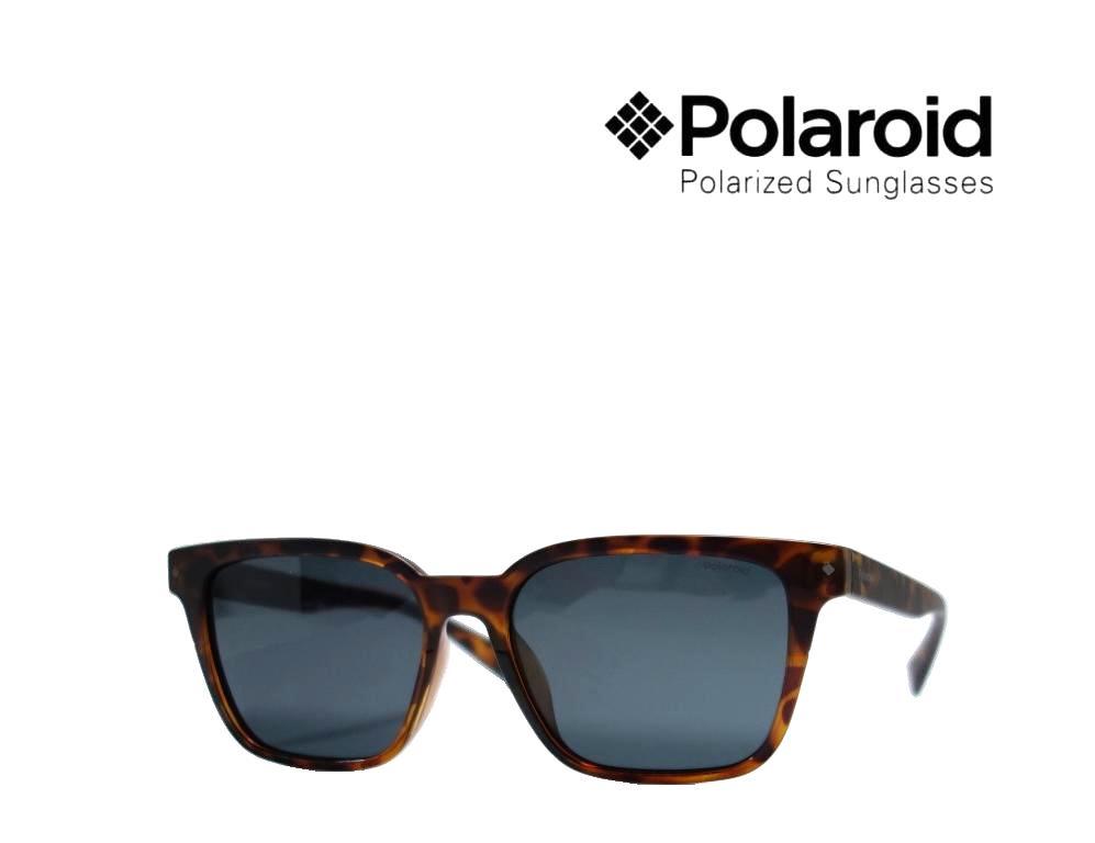 【Polaroid】 ポラロイド 偏光サングラス  PLD6044S  086M9  マットハバナ・ハバナ アジアンフィット  国内正規品