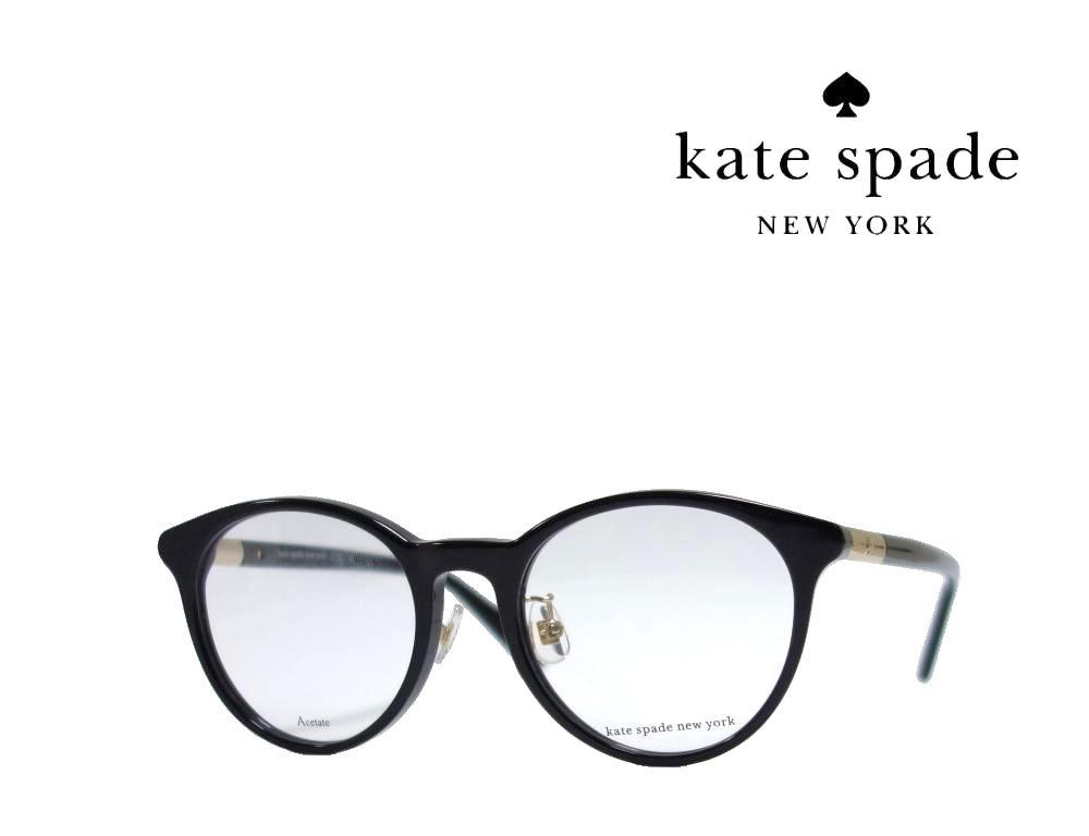 【Kate spade】 ケイトスペード メガネフレーム  DRYSTALEE/F  807  ブラック  国内正規品